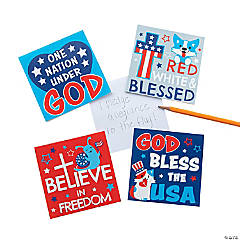 Red White & Blessed Notepads