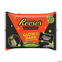 Reese's® Peanut Butter Cups Chocolate Candy with Glow-in-the-Dark Wrappers