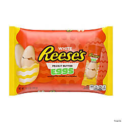 Reese's® White Chocolate & Peanut Butter Eggs Easter Candy