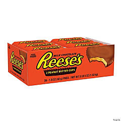 REESE'S Full Size Peanut Butter Cups, 1.5 oz, 36 Count