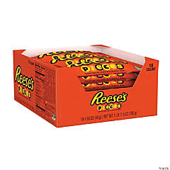 REESE'S PIECES Full Size Candy, 1.53 oz, 18 Count