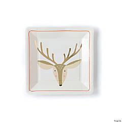 Reindeer Dinner Plates