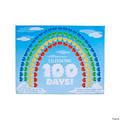 Religious 100th Day of School Sticker Scenes
