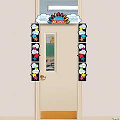 Religious Be Kind Door Border