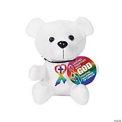 Religious Cancer Awareness Stuffed Bears
