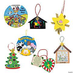 Religious Christmas Ornaments Classpack Mega Kit