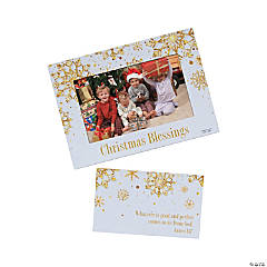 Religious Christmas Picture Frame Magnets