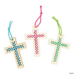 Religious Cross Stitch Ornament Craft Kit