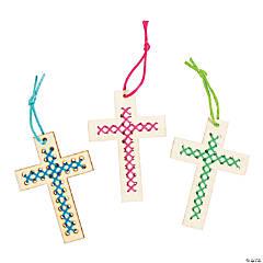 Religious Cross Stitch Ornaments