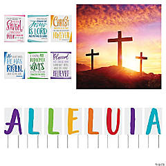Religious Easter Church Decorating Kit