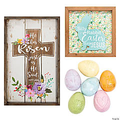 Religious Easter Home Decorating Kit