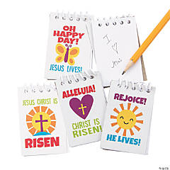 Religious Easter Mini Spiral Notepads
