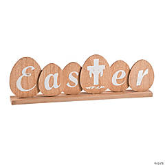 Religious Easter Tabletop Decoration