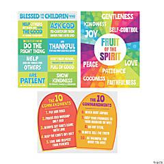 Religious Elementary Poster Set