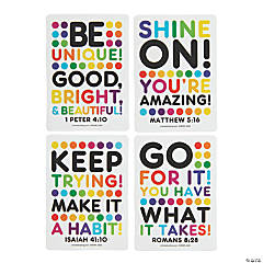 Religious Encouragement Cards - Bright