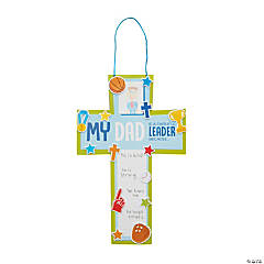 Religious Father's Day Cross Sign Craft Kit