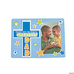Religious Father's Day Picture Frame Magnet Craft Kit