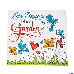 Religious Garden Home Décor Sign