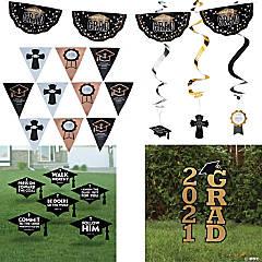 Religious Graduation Outdoor Decorating Kit