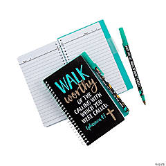Religious Graduation Spiral Notebooks with Pen