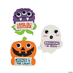 Religious Halloween Character Magnet Craft Kit