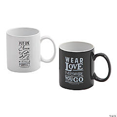 Religious Him & Her Coffee Mug Set
