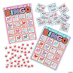 Religious Love Is Bingo Game