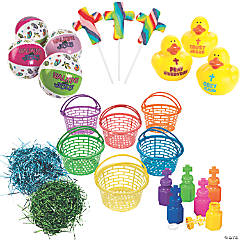 Religious May Day Basket Kit for 12