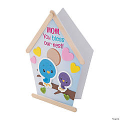 Religious Mother's Day Birdhouse Card Craft Kit