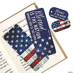 Religious Patriotic Bookmarks & Keychain Tags
