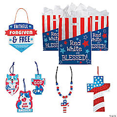 Religious Patriotic Craft Kits for 48