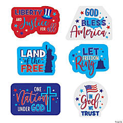 Religious Patriotic Cutouts