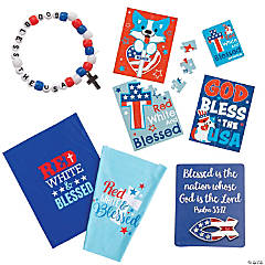 Religious Patriotic Favor Kit