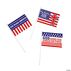 Religious Patriotic Flags