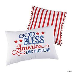 Religious Patriotic Pillow Set
