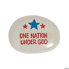 Religious Patriotic Worry Stones