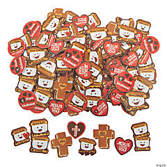 Religious S'more Self-Adhesive Shapes