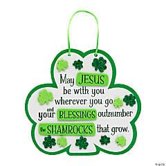 Religious Shamrock Blessings Craft Kit