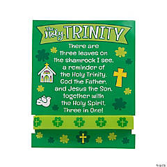 Religious St. Patrick's Day Bracelets with Card