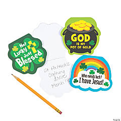 Religious St. Patrick's Day Notepads