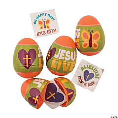 Religious Tattoo-Filled Easter Eggs