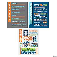 Religious Teen Poster Set