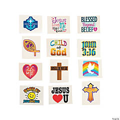 Religious Temporary Tattoos