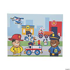 Rescue Hero Sticker Scenes