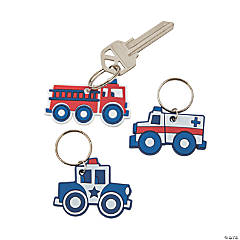 Rescue Heroes Keychains