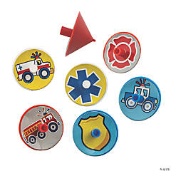 Rescue Heroes Spin Tops