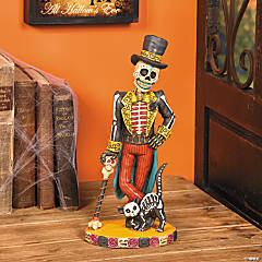 Resin Day of the Dead Vintage Skeleton