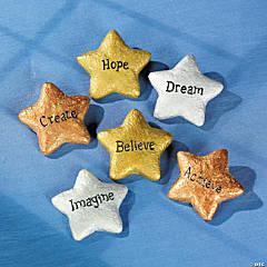 Resin Graduation Star Stones