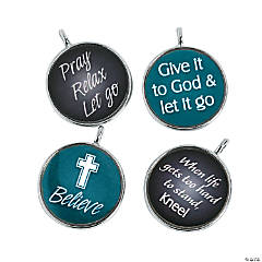 Resin Inspirational Framed Charms