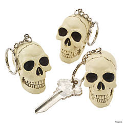 Resin Skull Key Chains